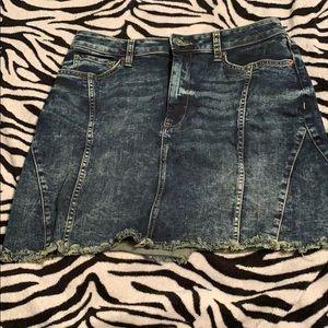 Jeanne's skirt
